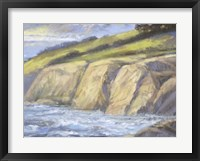 Framed Rocky Coast II