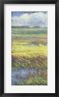 Framed Shimmering Marsh I
