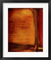 Red Dawn I Framed Print