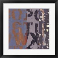 Framed Alphabet Overlay II