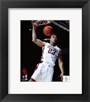 Framed Blake Griffin University of Oklahoma Sooners 2009 Action