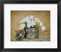 Framed Vintage Tulips