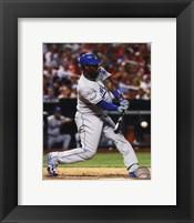 Framed Hanley Ramirez 2012 batting