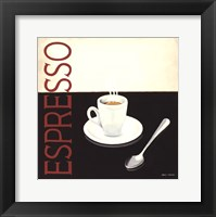 Cafe Moderne IV Framed Print