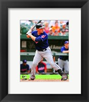 Framed Asdrubal Cabrera 2012 Action