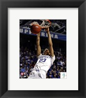 Framed Anthony Davis University of Kentucky Wildcats 2011 Action