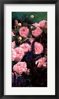 Framed Rose Garden II