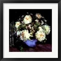 Framed Classic Flowers I