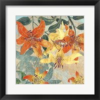 Framed Tiger Lilies I
