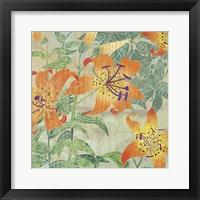 Framed Tiger Lilies II