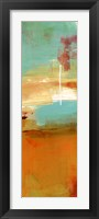 Sugar Bay II Framed Print