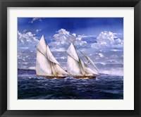 Windy Day Framed Print