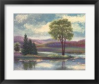 Framed Riverscape I