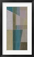 Linear Illusion II Framed Print