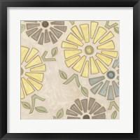 Framed Pastel Pinwheels I