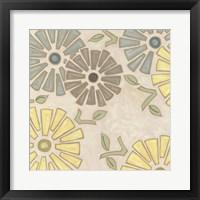 Framed Pastel Pinwheels II