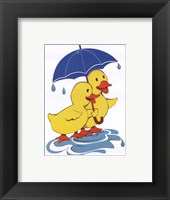 Ducks - Share Framed Print
