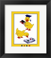 Ducks - Reading Framed Print