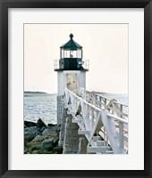 Lighthouse Views I Framed Print
