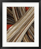 Framed Tangle Tile IV