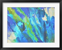 Blue Crush I Framed Print
