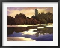 Framed Sandbanks I