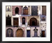 Doors III Framed Print