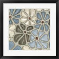 Framed Tiled Petals II