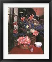 Framed Floral Still Life I