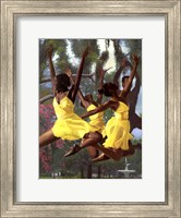 Framed Jumping For Joy