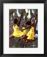 Framed Jumping For Joy