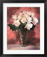 Framed Floral Still Life III