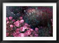 Framed Violet Garden