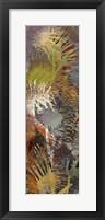 Framed Thistle Panel I