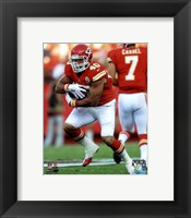 Framed Peyton Hillis 2012 Action