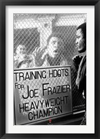 Framed Ali vs. Frazier - Window Taunt