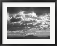 Mountains & Clouds I Framed Print