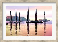 Framed AC Naples, Dusk