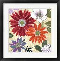 Framed Vintage Floral II