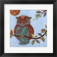 Framed Wise Owl II