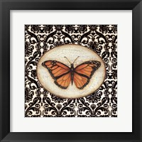 Framed Fanciful Butterfly I
