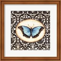 Framed Fanciful Butterfly II