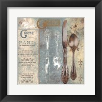 Fine Dining II Framed Print