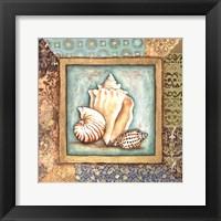 Ocean Treasures Bath II Framed Print