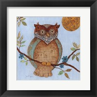 Framed Wise Owl I
