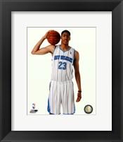 Framed Anthony Davis 2012 #1 Draft Pick