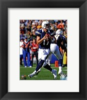 Framed Philip Rivers 2012 Action