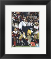 Framed Andre Johnson 2012 Action