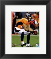 Framed Eric Decker 2012 Action