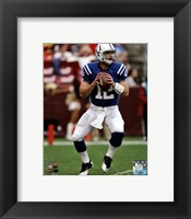 Framed Andrew Luck 2012 Action
